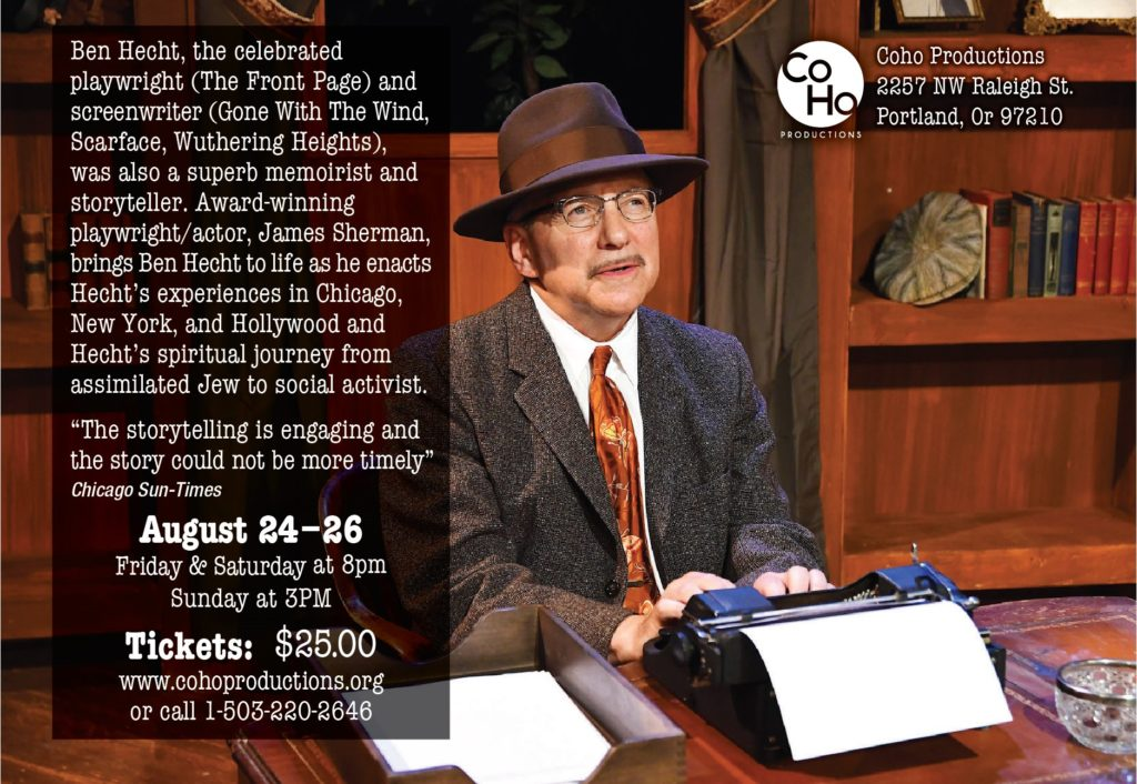 THE BEN HECHT SHOW @ Coho Productions | Portland | Oregon | United States