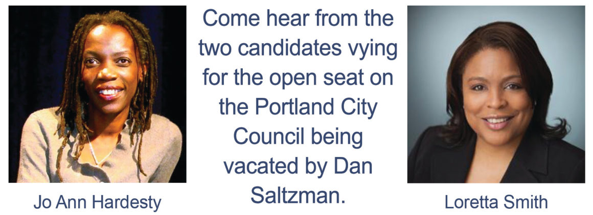 CITY COUNCIL CANDIDATE FORUM: @ Mittleman Jewish Community Center | Portland | Oregon | United States